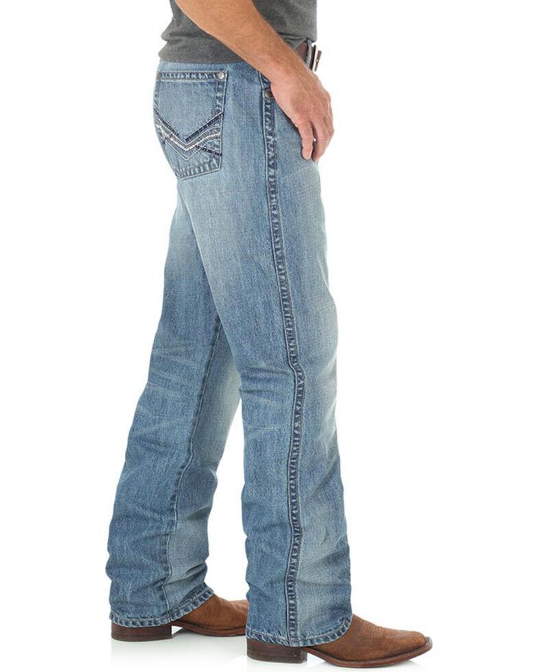 Wrangler Men's Blue 20X No. 33 Relaxed Jeans - Straight Leg , Blue, hi-res