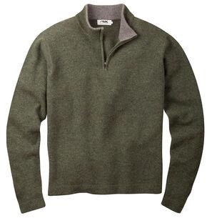 Mountain Khakis Men's Mossy Green Lodge Crewneck Sweater , Loden, hi-res