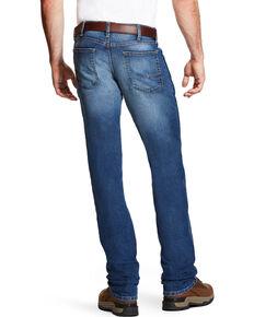 Ariat Men's Rebar M3 Loose Fit Sierra Wash Jeans - Straight Leg, Indigo, hi-res