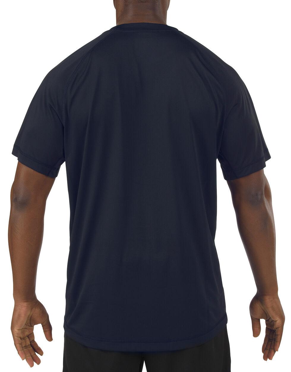 5.11 Tactical Utility PT Shirt, Navy, hi-res
