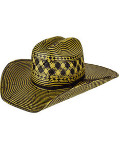 Bailey Mens Double Tall 10X Straw Cowboy Hat d51af022958