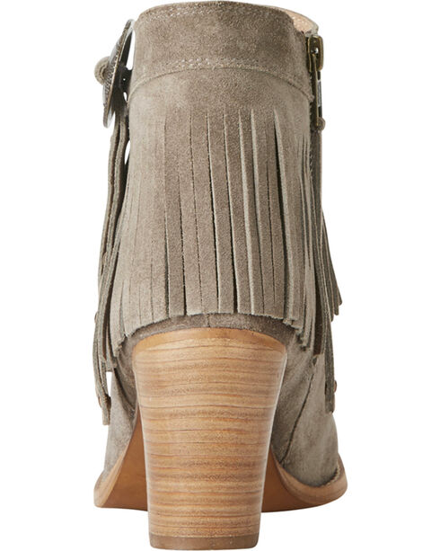 Ariat Women's Unbridled Avery Suede Boots - Round Toe, Brown, hi-res