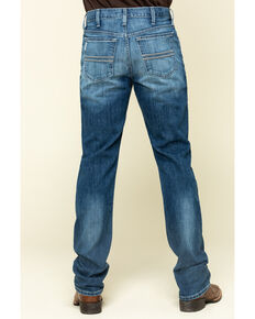 Cinch Men's Silver Label Performance Slim Straight Jeans , Indigo, hi-res