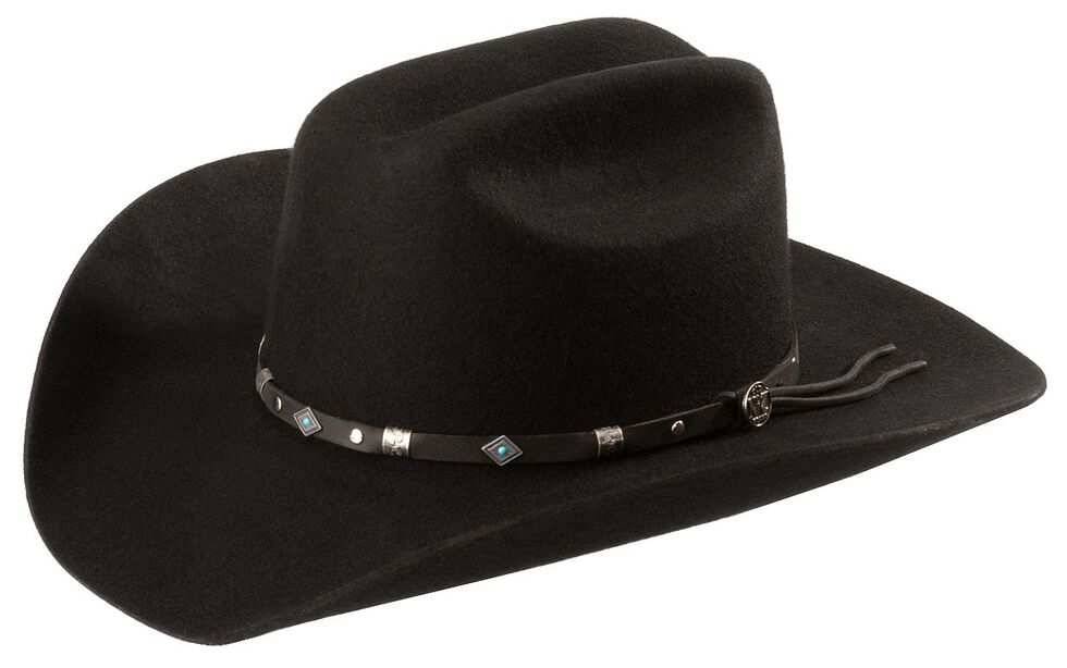 Jack Daniel s Wool Felt Cowboy Hat  5c0cceb18799