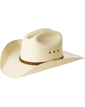 Justin Morgan Straw Cowboy Hat, Natural, hi-res