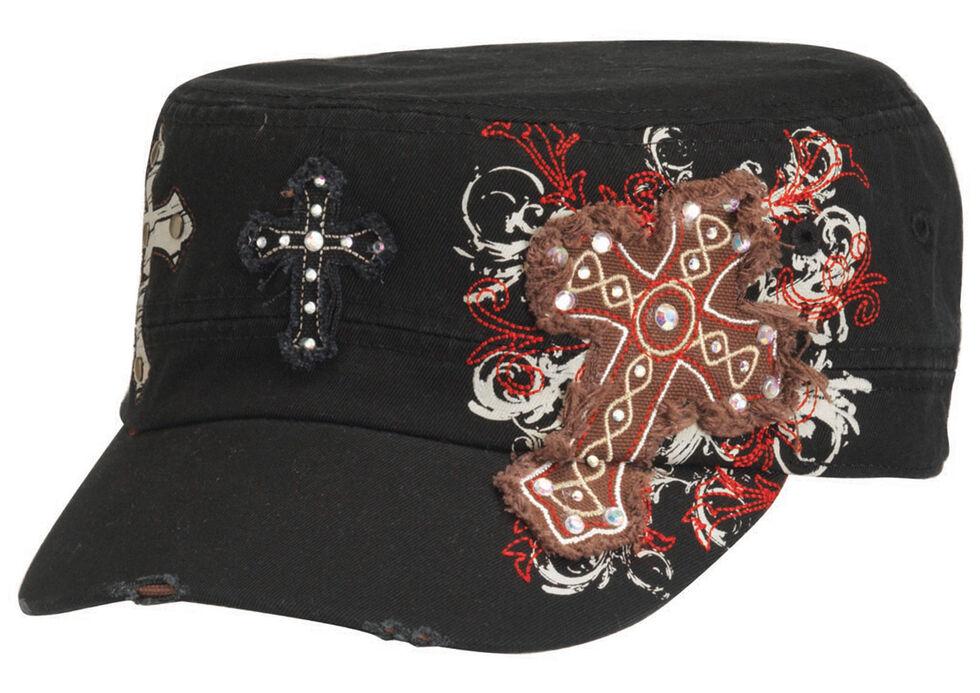 Blazin Roxx Cross Embroidered Cap, , hi-res