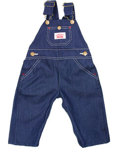 Roundhouse Infant's Overalls, Blue, hi-res