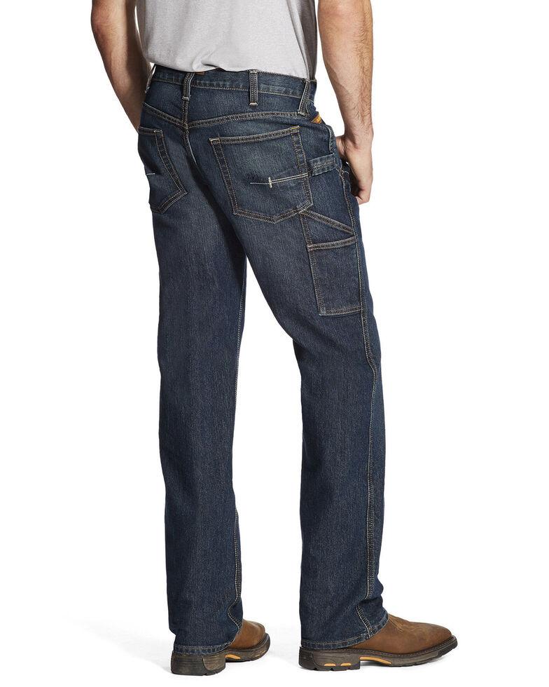 Ariat Men's M4 Workhorse DuraStretch Carpenter Work Jeans, Indigo, hi-res