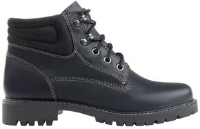 Eastland Women's Black Edith Alpine Boots , Black, hi-res