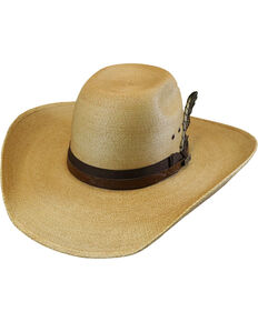 Larry Mahan 30X Hodge Palm Leaf Cowboy Hat , Rust Copper, hi-res