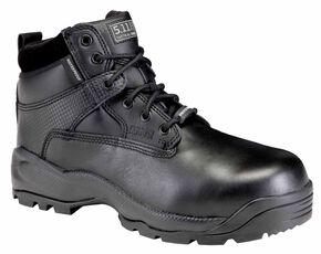 """5.11 Tactical Men's A.T.A.C. 6"""" Shield Side Zip ASTM Boots, Black, hi-res"""