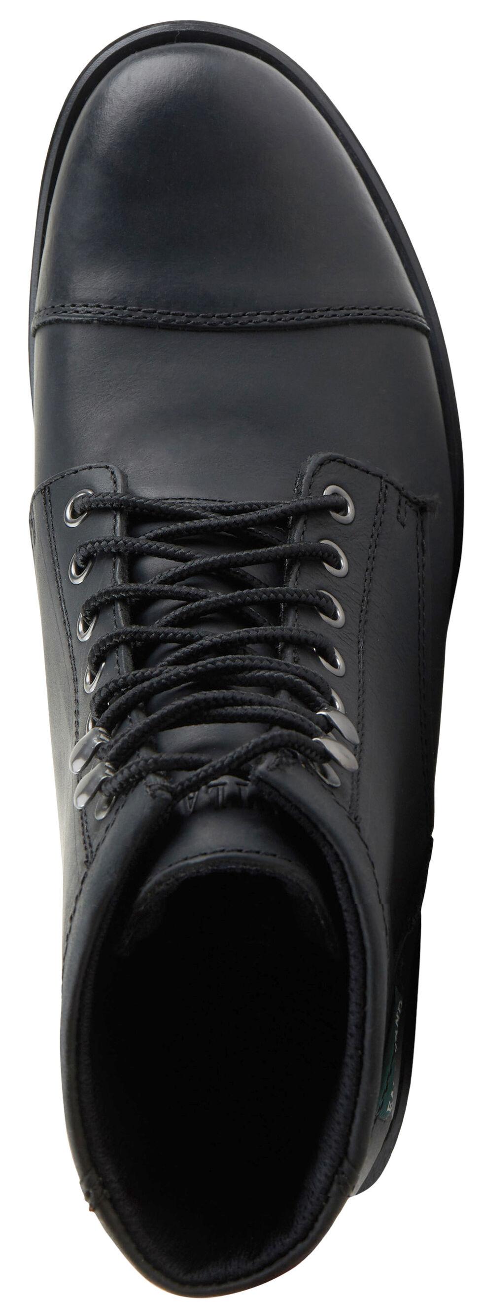 Eastland Men's Black High Fidelity Cap Toe Boots , , hi-res