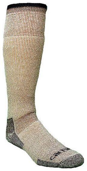 Carhartt Arctic Wool Heavyweight Boot Socks, Brown, hi-res