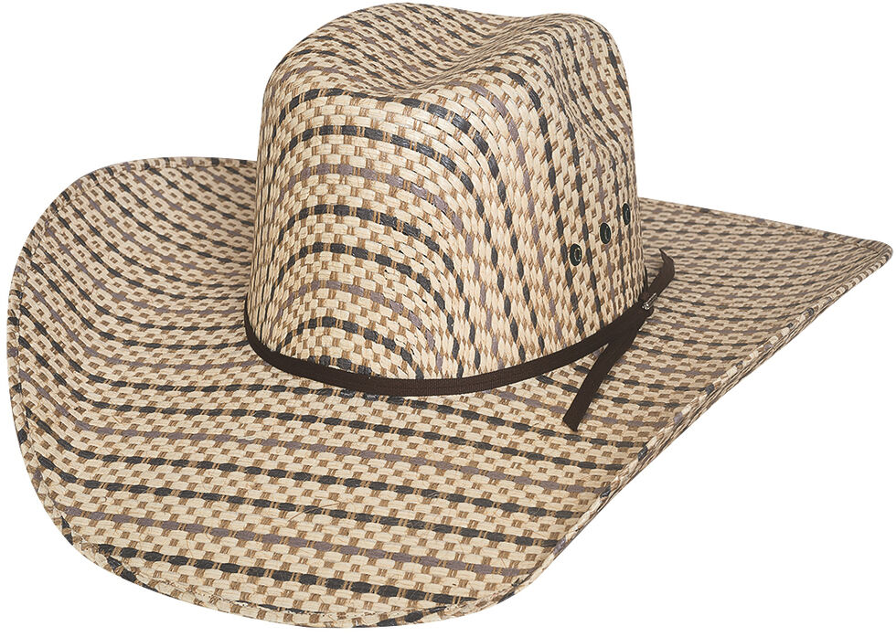 Bullhide Men's Bronc Ballet 50X Straw Cowboy Hat, Natural, hi-res