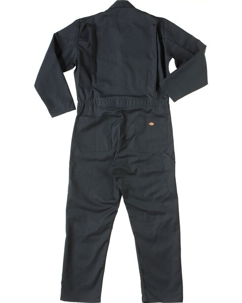 Dickies Long Sleeve Coveralls, Navy, hi-res