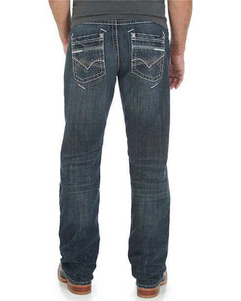 Rock 47 by Wrangler Men's Boot Cut Jeans, Indigo, hi-res