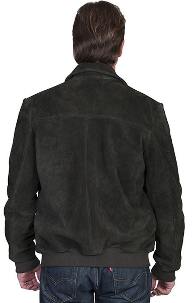 Scully Men's Suede Jacket, Loden, hi-res