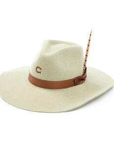 Charlie 1 Horse Olive Highway Wool-Felt Western Hat , Olive, hi-res