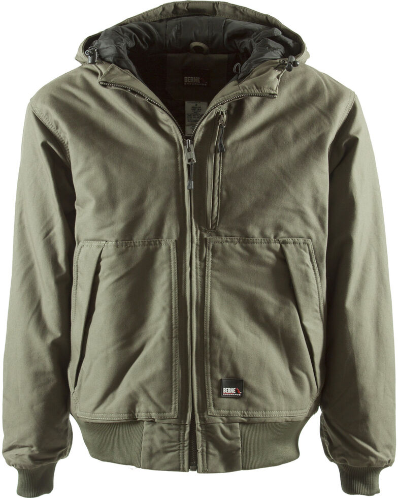 Berne Men's Matterhorn Work Jacket - Tall Sizes, Sage, hi-res