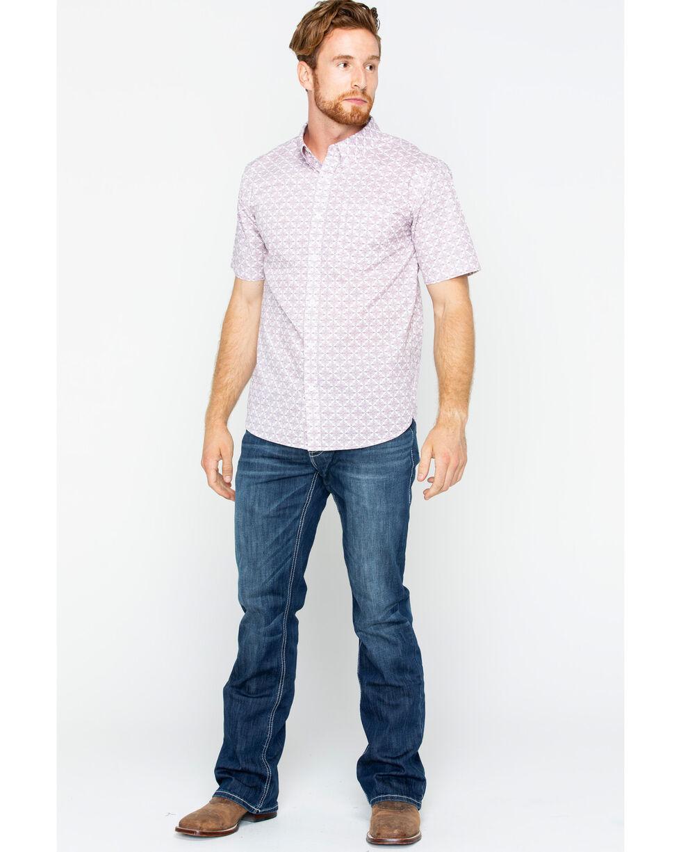 Gibson Men's Linden Short Sleeve Shirt, Red, hi-res