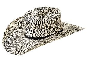 Bailey Ryker 15X Straw Cowboy Hat, Natural, hi-res
