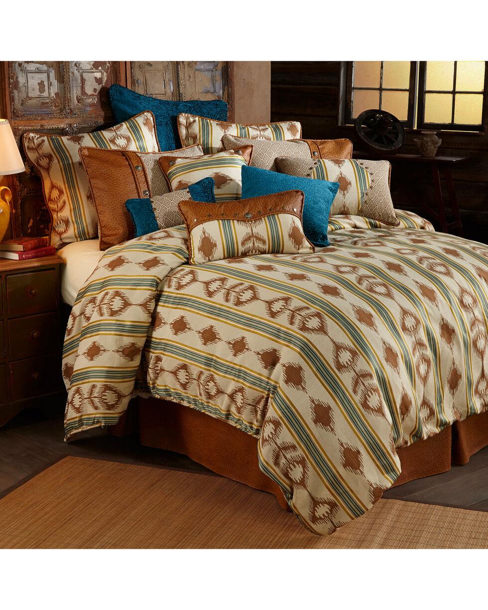 HiEnd Accents Alamosa Five-Piece Super King Bedding Set, Multi, hi-res
