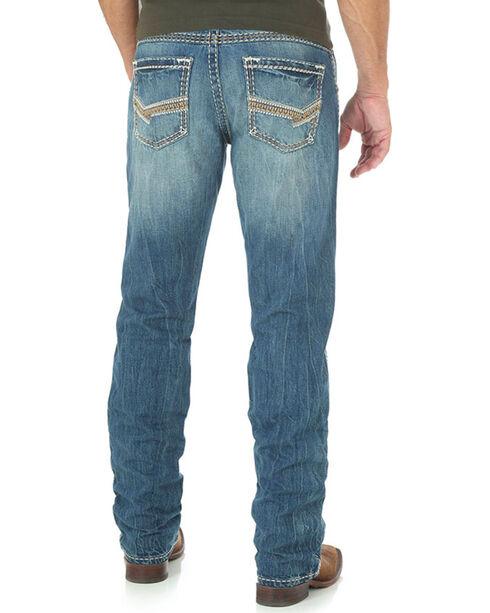 Wrangler Rock 47 Men's blue Slim Fit Jeans - Straight Leg , Blue, hi-res