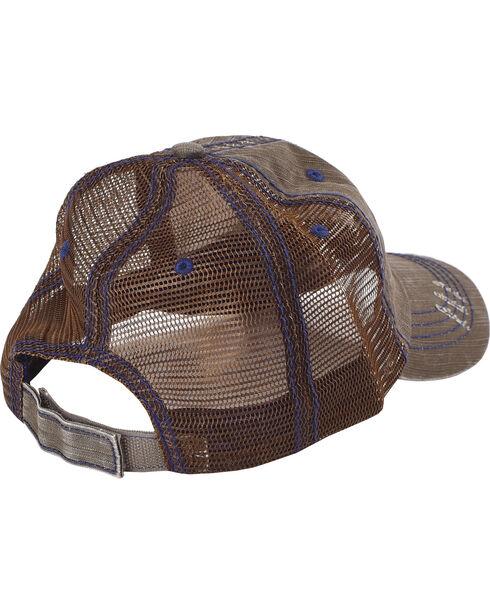 "Cody James® Men's ""I Need a Drink"" Trucker Hat, Brown, hi-res"