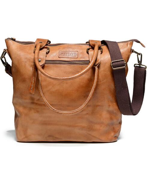 Bed Stu Women's Big Fork Tan Rustic Multi-Functional Handbag, Tan, hi-res