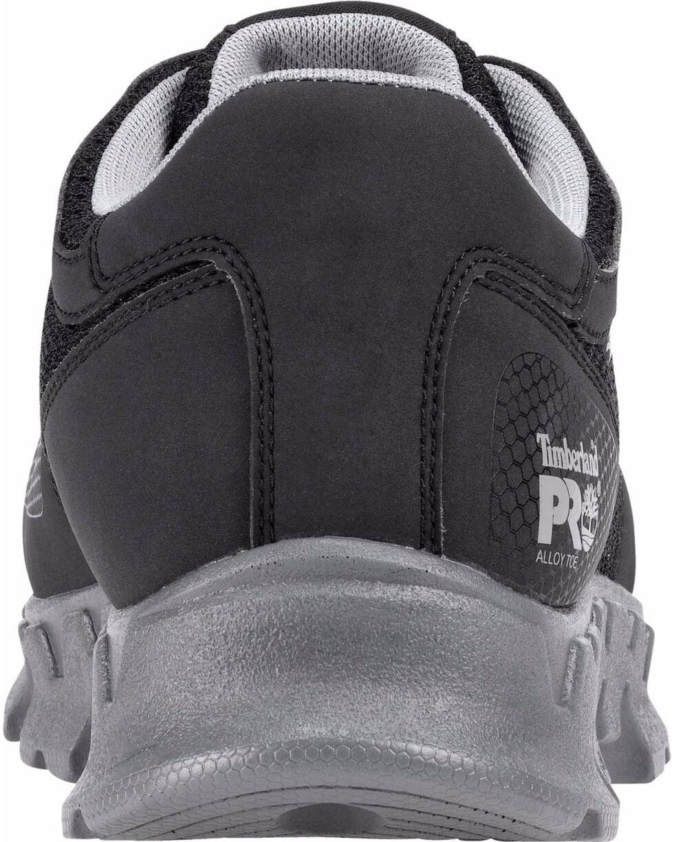 Timberland PRO Men's Powertrain ESD Work Shoes - Alloy Toe, Black, hi-res