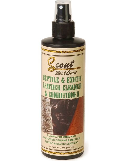 Scout Reptile & Exotic Leather Cleaner & Conditioner, Natural, hi-res
