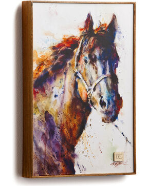 Big Sky Carvers Poncho Horse Wall Art, Multi, hi-res