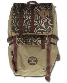 HOOey Tan Hat Carrier Topper Backpack , Tan, hi-res