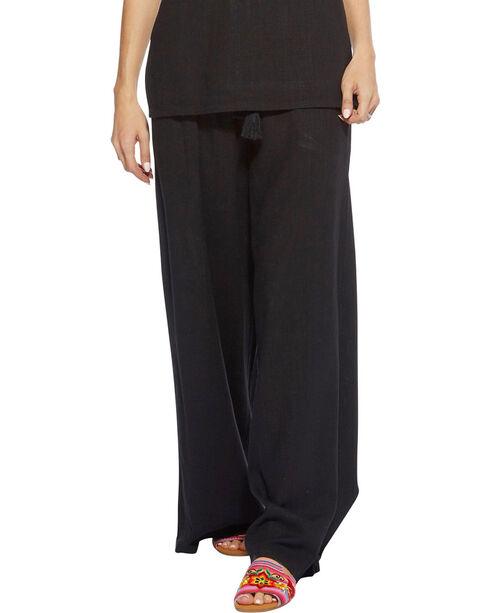 Angel Premium Women's Black Davis Pants , Black, hi-res