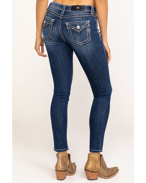 Miss Me Women's New Found Love Skinny Jeans, Blue, hi-res