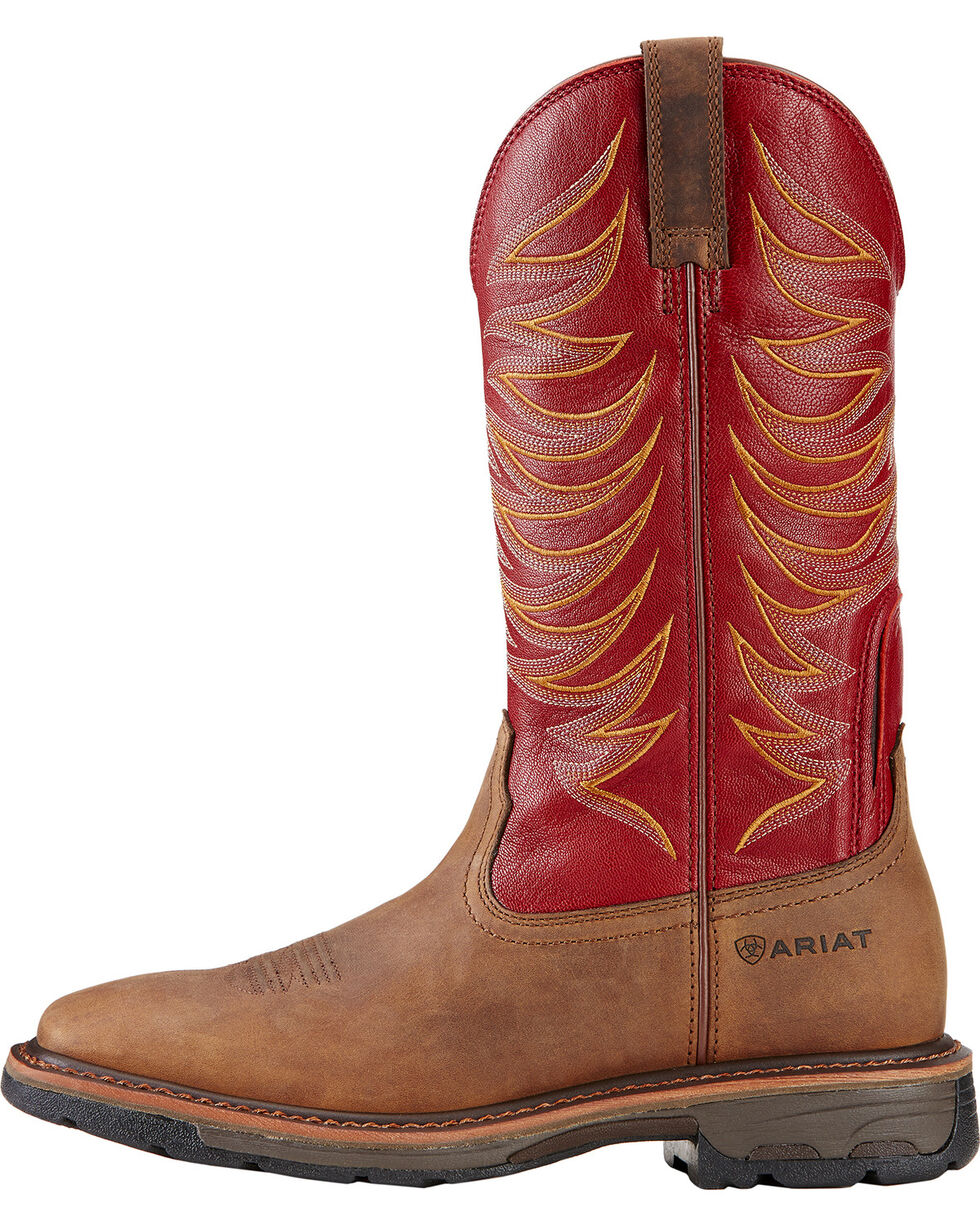 Ariat Workhog Wide Square Toe Tall II Boots - Soft Square Toe , , hi-res