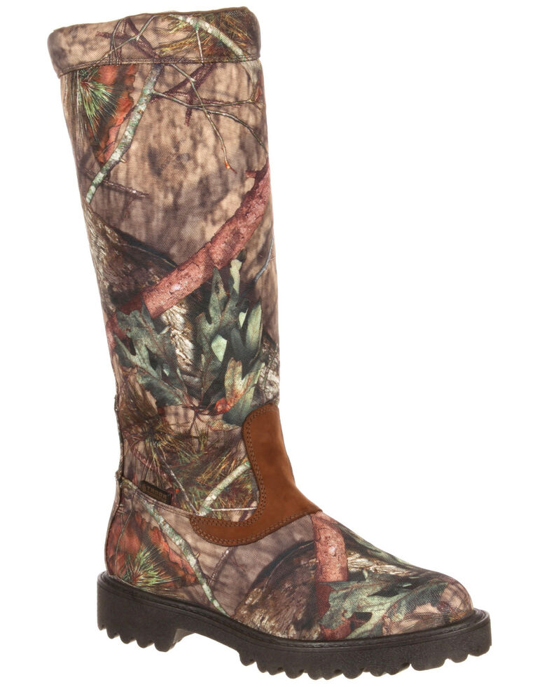 f0cae8a8e38 Rocky Men's Low Country Waterproof Snake Boots - Round Toe