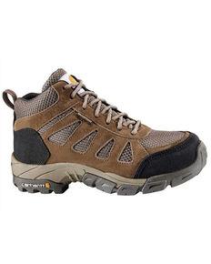 Carhartt Women's Lightweight Waterproof Hiker Boots - Soft Toe, Brown, hi-res