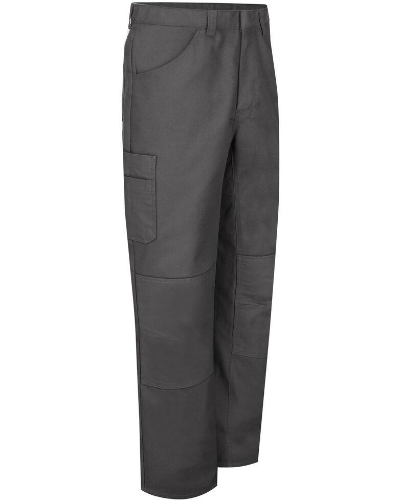 Red Kap Men's Charcoal Grey Performance Shop Work Pants , Charcoal Grey, hi-res
