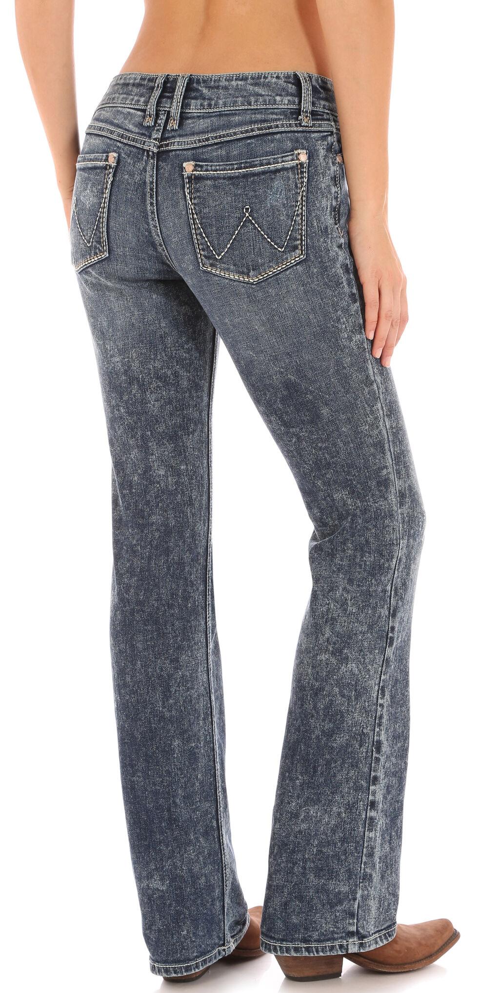 Wrangler Women's Bleach Wash Retro Sadie Jeans , Indigo, hi-res