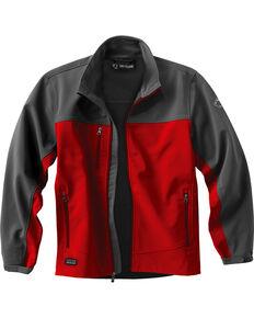 Dri Duck Men's Motion Softshell Jacket, Red, hi-res