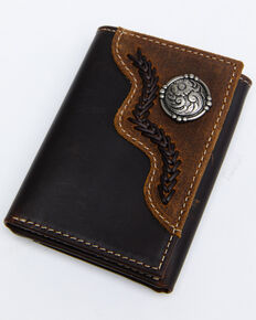 Cody James Men's Trifold Wallet, Brown, hi-res