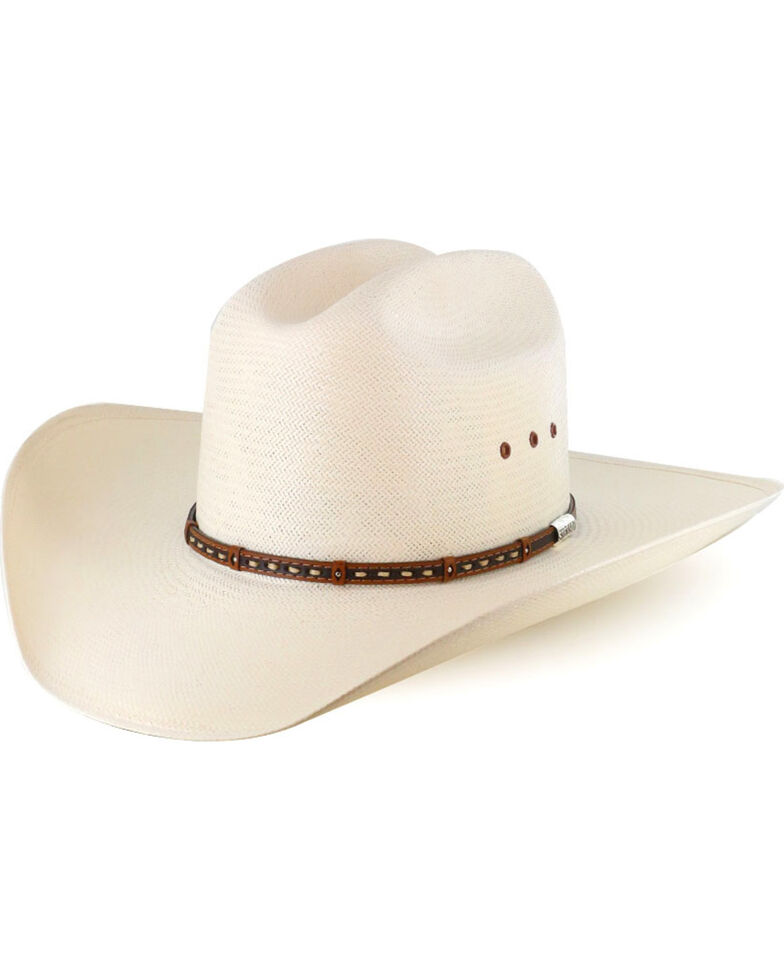 Stetson Men s 10X Natural Gunfighter Straw Cowboy Hat  48a27232744