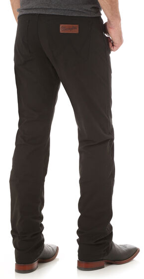 Wrangler Retro® Men's Black Slim Straight Jeans - Long, Black, hi-res
