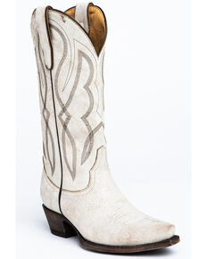 Idyllwind Women's Colt Western Boots - Snip Toe, White, hi-res