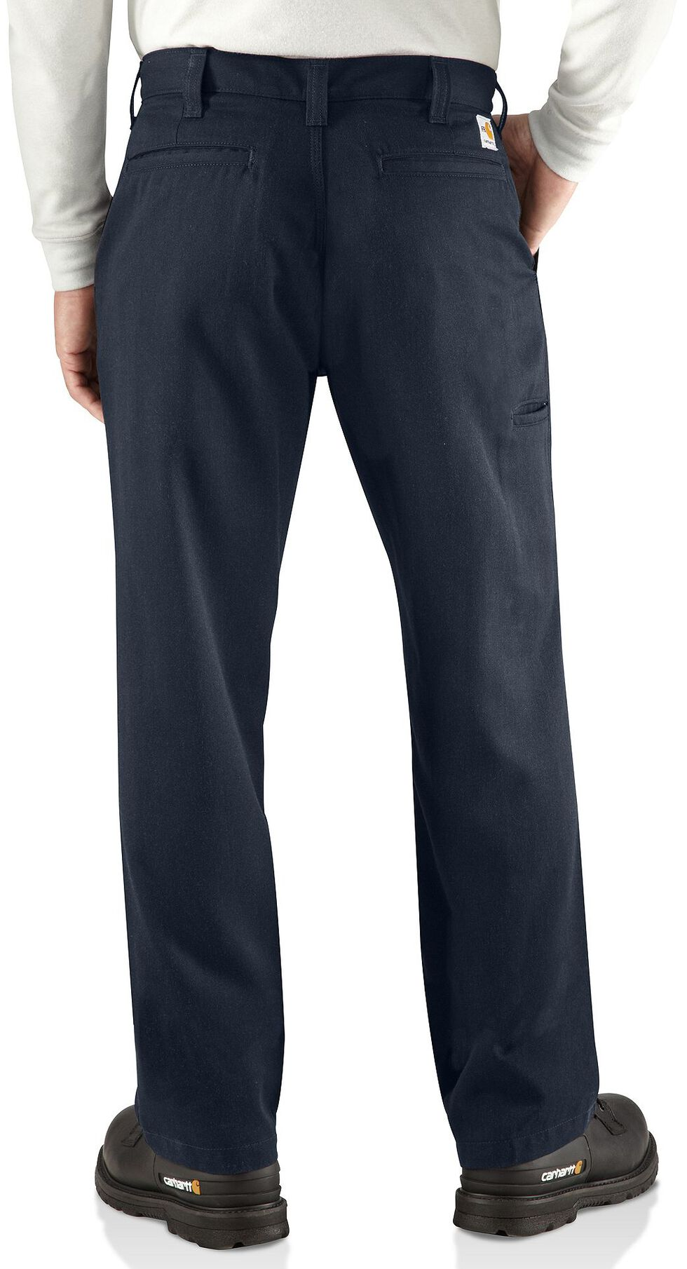 Carhartt Flame Resistant Work Pants - Big & Tall, Navy, hi-res