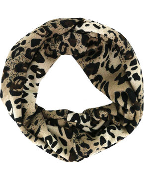 Shyanne Women's Leopard Head Wrap , Leopard, hi-res