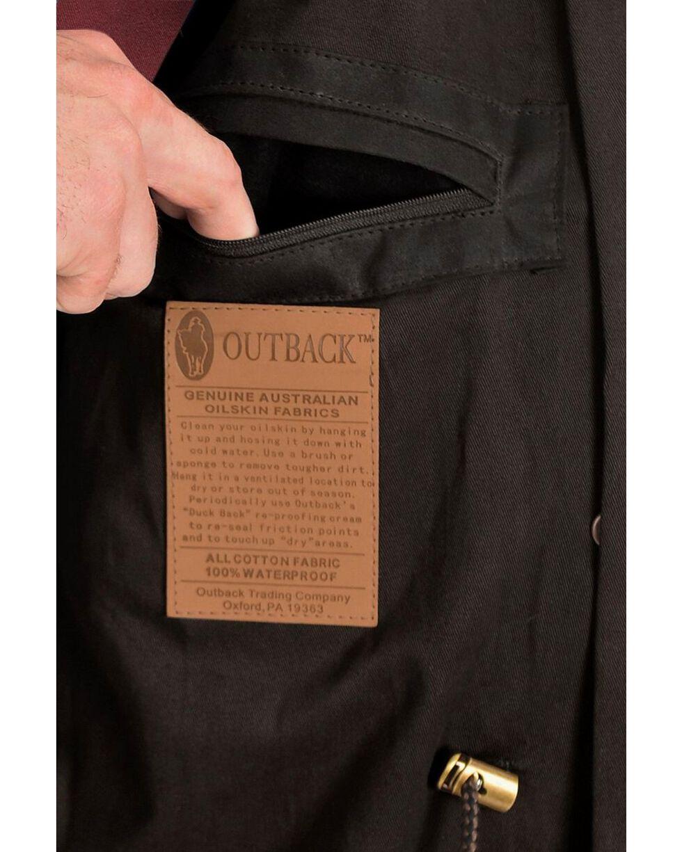 Outback Trading Co. Long Oilskin Duster, Black, hi-res