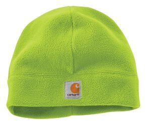 Carhartt High-Visibility Color Enhanced Beanie, Lime, hi-res