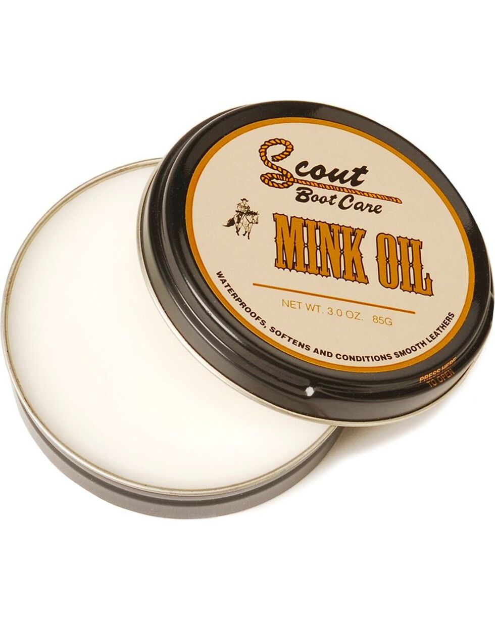 Scout Leather Boot Care Mink Oil, Natural, hi-res
